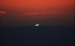 """Green Flash"" © 2007 photo by Mila Zinkova"
