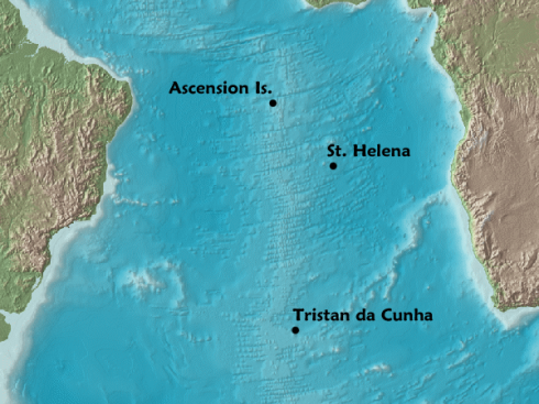 Ascension Island Location