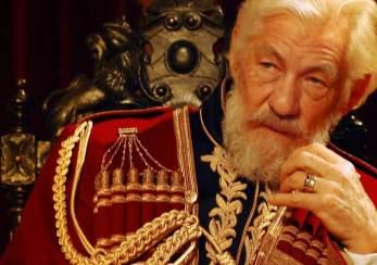 Ian McKellan as King Lear