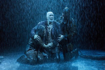 lear in the storm